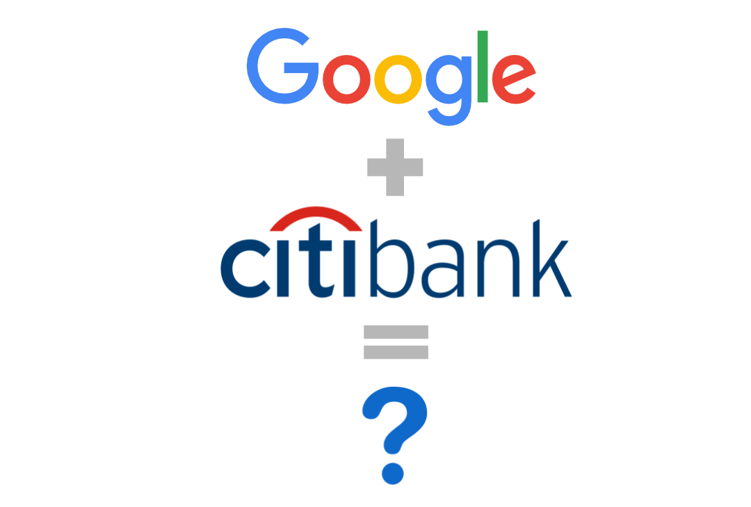 Visual: Citibank + Google cooperation